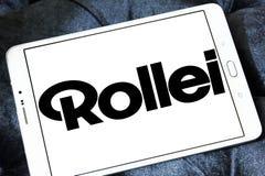Logo della società di Rollei Immagine Stock