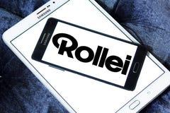 Logo della società di Rollei Fotografie Stock