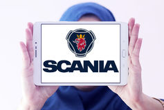 Logo della società di Scania Immagine Stock