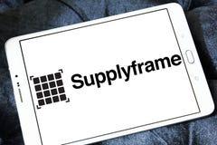 Logo della società di SupplyFrame Immagine Stock Libera da Diritti