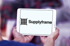 Logo della società di SupplyFrame Fotografie Stock