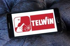 Logo della società di Telwin immagini stock