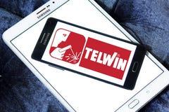 Logo della società di Telwin fotografia stock libera da diritti