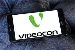 Logo della società di Videocon Fotografie Stock Libere da Diritti