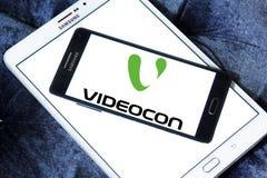 Logo della società di Videocon Immagini Stock