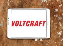 Logo della società di Voltcraft Immagini Stock