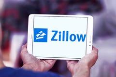 Logo della società di Zillow Fotografia Stock Libera da Diritti