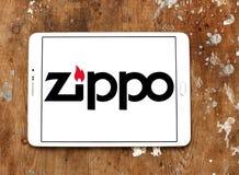 Logo della società di Zippo Fotografie Stock