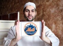 Logo della squadra di baseball di New York Mets fotografia stock