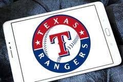 Logo della squadra di baseball di Texas Rangers immagini stock