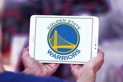 Logo della squadra di pallacanestro dei guerrieri del Golden State Fotografia Stock Libera da Diritti