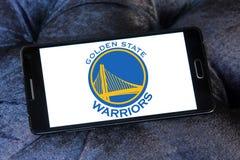 Logo della squadra di pallacanestro dei guerrieri del Golden State Immagini Stock Libere da Diritti