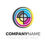 Logo della stampa Immagini Stock