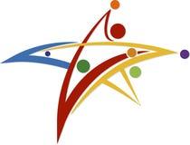 Logo della stella illustrazione di stock