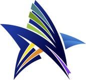 Logo della stella royalty illustrazione gratis