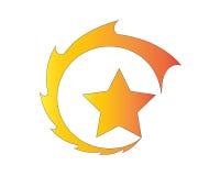 Logo della stella Fotografie Stock
