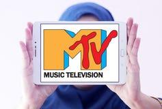 Logo della televisione di musica del Mtv Fotografie Stock