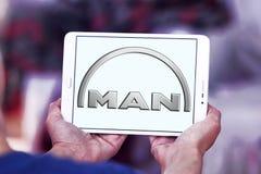 Logo delle automobili dell'uomo Fotografie Stock