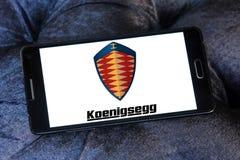 Logo delle automobili di Koenigsegg Immagini Stock Libere da Diritti
