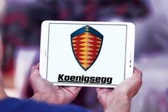 Logo delle automobili di Koenigsegg Fotografia Stock Libera da Diritti