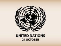 Logo delle nazioni unite Fotografia Stock