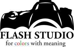 Logo dello studio di fotografia royalty illustrazione gratis