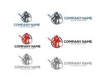 Logo dello studio legale, modello, progettazione, vettore, emblema, concetto di progetto, simbolo creativo, icona Fotografia Stock