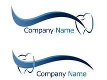 Logo dentaire Photo libre de droits