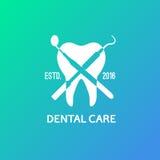 Logo dentaire, emblème Images libres de droits