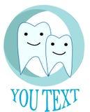 Logo dentystyki rodziny typ Zdjęcie Royalty Free
