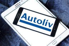 Logo des véhicules à moteur de société de sécurité d'Autoliv Image stock