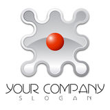Logo design. For your new company Royalty Free Stock Photos