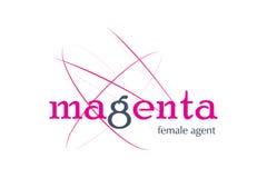 Logo Design. For model agency Stock Photo
