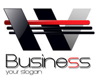 Logo design Stock Photo