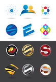 Logo design collection Royalty Free Stock Image