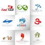 Logo Design Royalty Free Stock Images