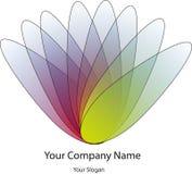 Logo Design coloré pour la société illustration stock