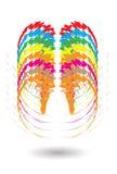 Logo design Royalty Free Stock Photo