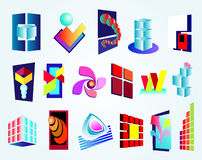 Logo design company Stock Images