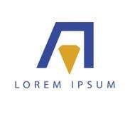 A Logo Design Stock Photos