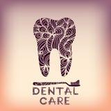 Logo Design dental stock de ilustración