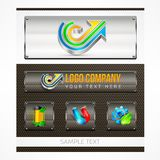 Logo and design element Royalty Free Stock Photos