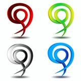 Logo design element business Stock Images