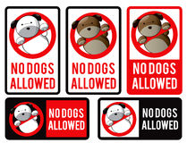 Logo design element. No dogs allowed. Royalty Free Stock Photo