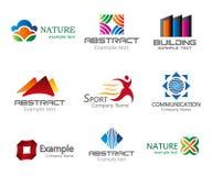 Logo design elements Stock Images