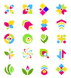 Logo design elements Royalty Free Stock Photography