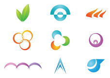Logo Design elements Stock Images