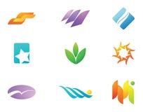 Logo Design elements royalty free illustration