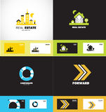 Logo design elements icon set Royalty Free Stock Images