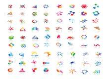 Logo design elements set for designer. Illustration Stock Images